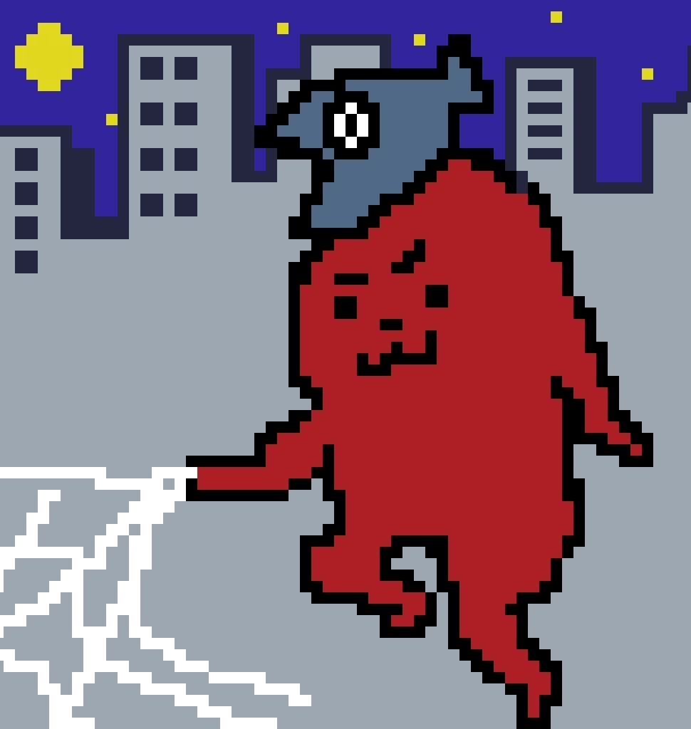 スパイダーマン風ゲー吉