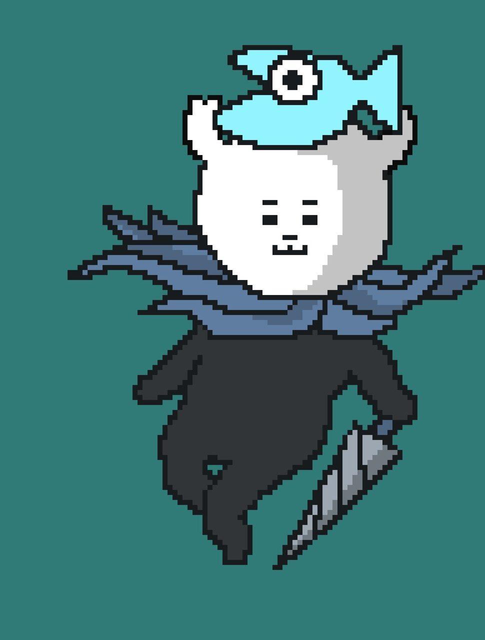 ホロウナイト主人公(小さな騎士)風のゲー吉